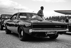 αμερικανικό αυτοκίνητο Στοκ Εικόνες