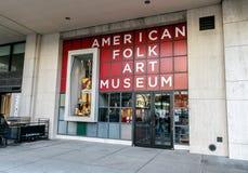 Αμερικανικό λαϊκό Μουσείο Τέχνης Στοκ Φωτογραφία