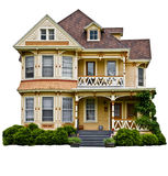 αμερικανικό βασικό σπίτι στοκ φωτογραφία