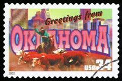 Αμερικανικό γραμματόσημο στοκ εικόνες