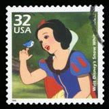 Αμερικανικό γραμματόσημο στοκ εικόνα