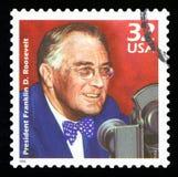 Αμερικανικό γραμματόσημο στοκ φωτογραφίες με δικαίωμα ελεύθερης χρήσης