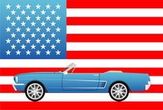 Αμερικανικό διάσημο σπορ αυτοκίνητο Στοκ εικόνες με δικαίωμα ελεύθερης χρήσης