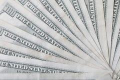 Αμερικανικό δολάριο εκατό λογαριασμοί στοκ φωτογραφία με δικαίωμα ελεύθερης χρήσης