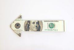 αμερικανικό δολάριο Στοκ εικόνα με δικαίωμα ελεύθερης χρήσης