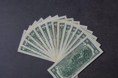 Αμερικανικό δολάριο billnotes Στοκ φωτογραφίες με δικαίωμα ελεύθερης χρήσης