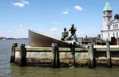Αμερικανικό εμπορικό μνημείο ναυτικών στοκ εικόνες με δικαίωμα ελεύθερης χρήσης