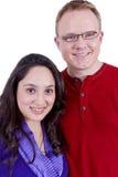 αμερικανικό ζεύγος μεξικανός στοκ εικόνα