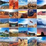 Αμερικανικό κολάζ Στοκ φωτογραφία με δικαίωμα ελεύθερης χρήσης