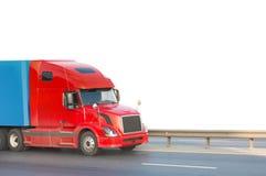 αμερικανικό κόκκινο truck Στοκ Εικόνα