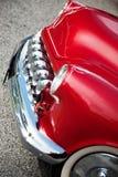 Αμερικανικό κλασικό αυτοκίνητο, μπροστινή άποψη Στοκ φωτογραφία με δικαίωμα ελεύθερης χρήσης