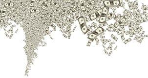 αμερικανικό λευκό δολαρίων ανασκόπησης Στοκ εικόνες με δικαίωμα ελεύθερης χρήσης