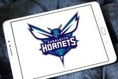 Αμερικανικό λογότυπο ομάδα μπάσκετ του Σαρλόττα Hornets Στοκ εικόνες με δικαίωμα ελεύθερης χρήσης