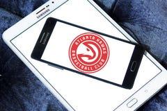 Αμερικανικό λογότυπο ομάδα μπάσκετ των Atlanta Hawks Στοκ φωτογραφία με δικαίωμα ελεύθερης χρήσης
