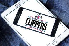 Αμερικανικό λογότυπο ομάδα μπάσκετ των Los Angeles Clippers στοκ εικόνα με δικαίωμα ελεύθερης χρήσης