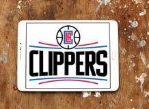 Αμερικανικό λογότυπο ομάδα μπάσκετ των Los Angeles Clippers στοκ εικόνες