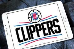 Αμερικανικό λογότυπο ομάδα μπάσκετ των Los Angeles Clippers στοκ εικόνες με δικαίωμα ελεύθερης χρήσης