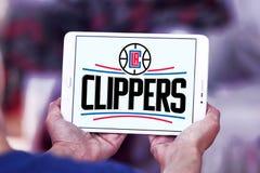 Αμερικανικό λογότυπο ομάδα μπάσκετ των Los Angeles Clippers στοκ φωτογραφία