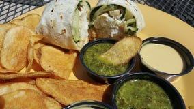 Αμερικανικό μεξικάνικο μεσημεριανό γεύμα στοκ φωτογραφία με δικαίωμα ελεύθερης χρήσης