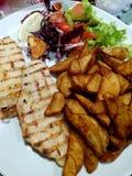 Αμερικανικό μεσημεριανό γεύμα Στοκ Εικόνες