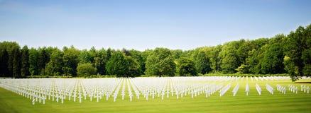 αμερικανικό νεκροταφεί&omic Στοκ Εικόνα