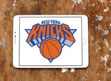 Αμερικανικό λογότυπο ομάδα μπάσκετ των New York Knicks Στοκ φωτογραφία με δικαίωμα ελεύθερης χρήσης