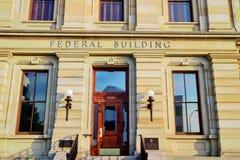 Αμερικανικό ομοσπονδιακό κτήριο Στοκ εικόνα με δικαίωμα ελεύθερης χρήσης