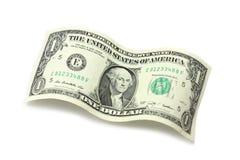 αμερικανικό δολάριο ένα Στοκ φωτογραφίες με δικαίωμα ελεύθερης χρήσης