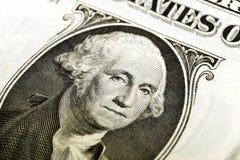 Αμερικανικό δολάριο Κινηματογράφηση σε πρώτο πλάνο Στοκ φωτογραφίες με δικαίωμα ελεύθερης χρήσης