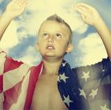 Αμερικανικό παιδί στοκ εικόνες με δικαίωμα ελεύθερης χρήσης