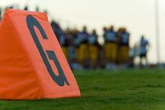 αμερικανικό ποδόσφαιρο Στοκ Εικόνα