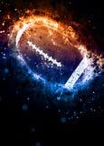 αμερικανικό ποδόσφαιρο &alph Στοκ εικόνα με δικαίωμα ελεύθερης χρήσης