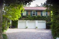 αμερικανικό σπίτι παραδο&si στοκ φωτογραφίες