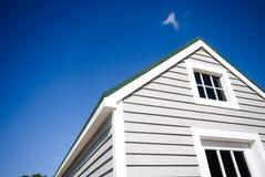 αμερικανικό σπίτι χαρακτη& Στοκ εικόνα με δικαίωμα ελεύθερης χρήσης