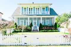αμερικανικό σπίτι Στοκ φωτογραφίες με δικαίωμα ελεύθερης χρήσης