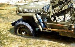 Αμερικανικό στρατιωτικό όχημα τζιπ wwii Στοκ Φωτογραφίες