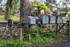 Αμερικανικό ταχυδρομείο RFD στοκ εικόνα