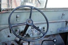 Αμερικανικό τζιπ αυτοκινήτων στο κτήμα Herberton Στοκ φωτογραφία με δικαίωμα ελεύθερης χρήσης