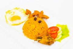 αμερικανικό τηγανισμένο ρύζι Στοκ Εικόνες