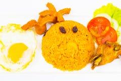 αμερικανικό τηγανισμένο ρύζι Στοκ φωτογραφία με δικαίωμα ελεύθερης χρήσης