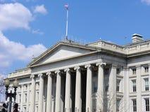 Αμερικανικό τμήμα κτηρίου Υπουργείου Οικονομικών Στοκ Εικόνες