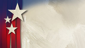Αμερικανικό υπόβαθρο σύστασης αστεριών και λωρίδων αφηρημένο Στοκ Φωτογραφίες