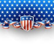 Αμερικανικό υπόβαθρο Στοκ εικόνες με δικαίωμα ελεύθερης χρήσης