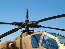 Αμερικανικό ah-64 Apache επιθετικό ελικόπτερο Στοκ Εικόνες