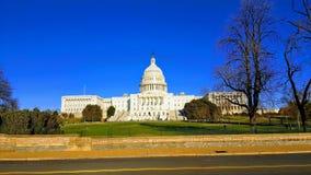 Αμερικανικό Capitol κτήριο στοκ φωτογραφίες με δικαίωμα ελεύθερης χρήσης