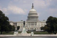 Αμερικανικό Capitol κτήριο Στοκ Εικόνες