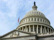 Αμερικανικό Capitol κτήριο, Washington DC στοκ φωτογραφία με δικαίωμα ελεύθερης χρήσης
