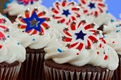 Αμερικανικό Cupcakes στοκ εικόνα με δικαίωμα ελεύθερης χρήσης