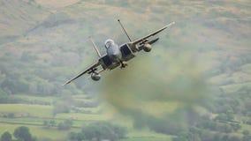 Αμερικανικό F15 αεριωθούμενο αεροπλάνο Στοκ φωτογραφίες με δικαίωμα ελεύθερης χρήσης