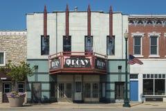 Αμερικανικό Midwest στο ύφος του Art Deco στοκ εικόνες